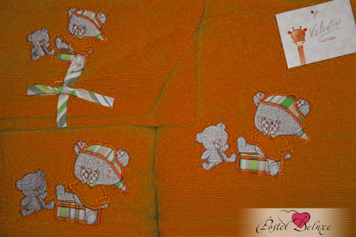 Полотенца Valentini Детское полотенце JuniorBear Цвет: Оранжевый (Набор) набор из 3 полотенец merzuka sakura 50х90 2 70х140 8432 оранжевый