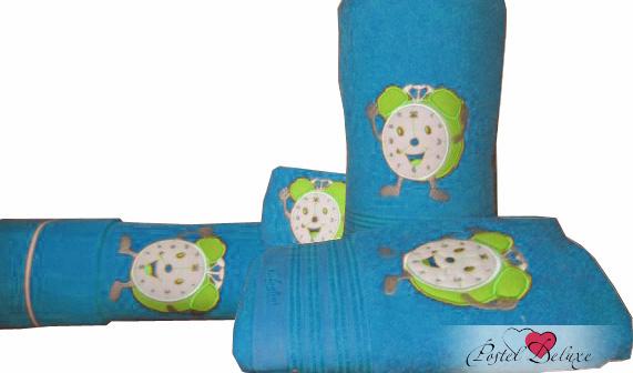 Полотенца Valentini Детское полотенце JuniorClock Цвет: Голубой (Набор) полотенце детское арти м набор из 2 полотенец для ванной 820 0