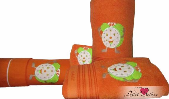 Полотенца Valentini Детское полотенце JuniorClock Цвет: Оранжевый (Набор) набор из 3 полотенец merzuka sakura 50х90 2 70х140 8432 оранжевый