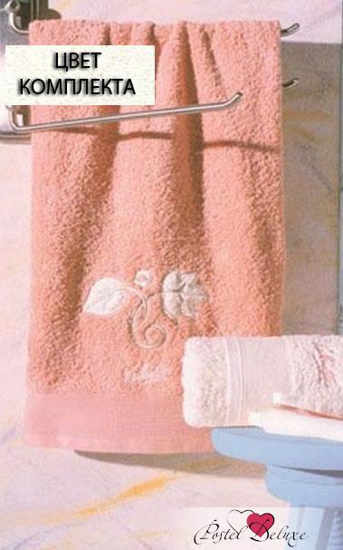 Полотенца Valentini Полотенце Flower 1Цвет: Кремовый (Набор) набор из 3 полотенец merzuka sakura 50х90 2 70х140 8432 терракотовый