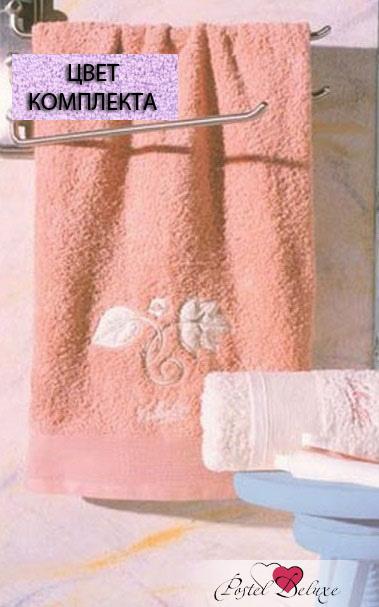 Полотенца Valentini ПолотенцеFlower 1Цвет: Светло-Сиреневый (Набор) полотенце ecotex лайфстайл 70x130 светло сиреневый t 02 l светло сиреневый