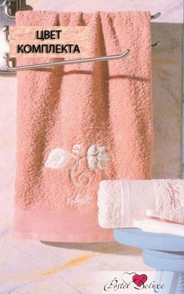 Полотенца Valentini ПолотенцеFlower 1Цвет: Персиковый (Набор) набор из 3 полотенец merzuka sakura 50х90 2 70х140 8432 терракотовый