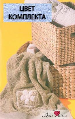 Полотенца Valentini ПолотенцеFlower 2Цвет: Светло-Голубой (Набор) сауны бани и оборудование valentini набор для сауны flower 2цвет светло голубой