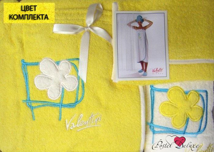 Сауны, бани и оборудование Valentini Набор для сауны Flower 2Цвет: Желтый сауны бани и оборудование valentini набор для сауны fashion цвет песочный