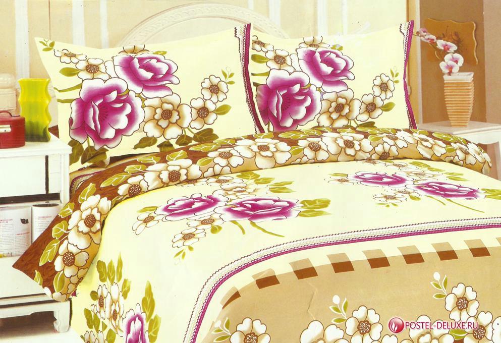Постельное белье Valtery Постельное белье OykuV4 (сем.) постельное белье мартекс постельное белье микрофибра 3d визит