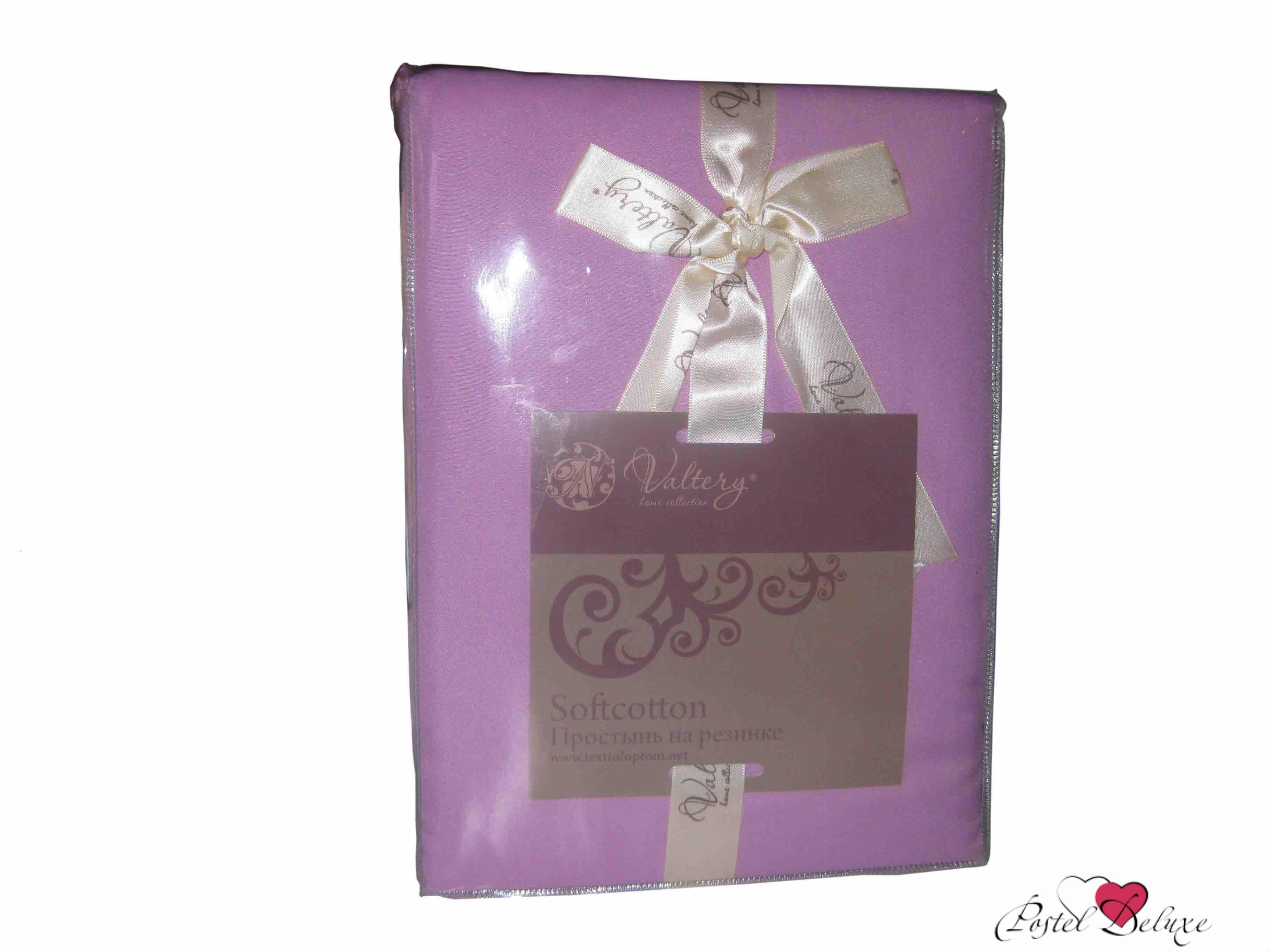 Простыни Valtery Простыня на резинке Joleen Цвет: Сиреневый простыни lool простыня на резинке fitted sheet