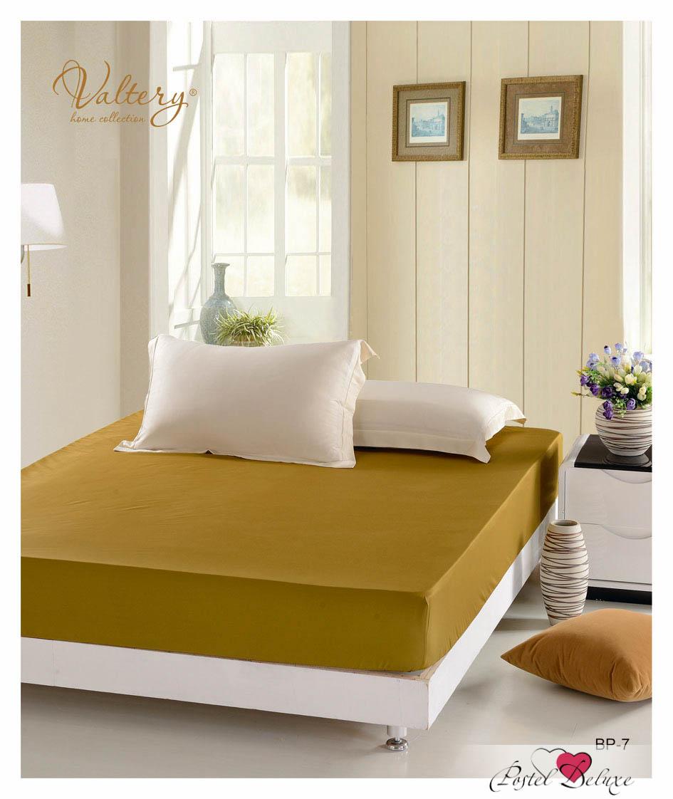 Простыни Valtery Простыня на резинке Gerry Цвет: Горчичный every набор чехлов для дивана every цвет горчичный