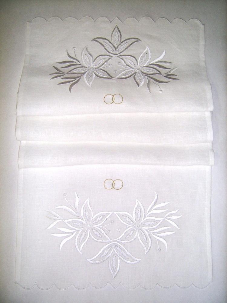 {} 8 Марта Рушник Венчальный Цвет: Белый (45х145 см) рушник gift n home рушник