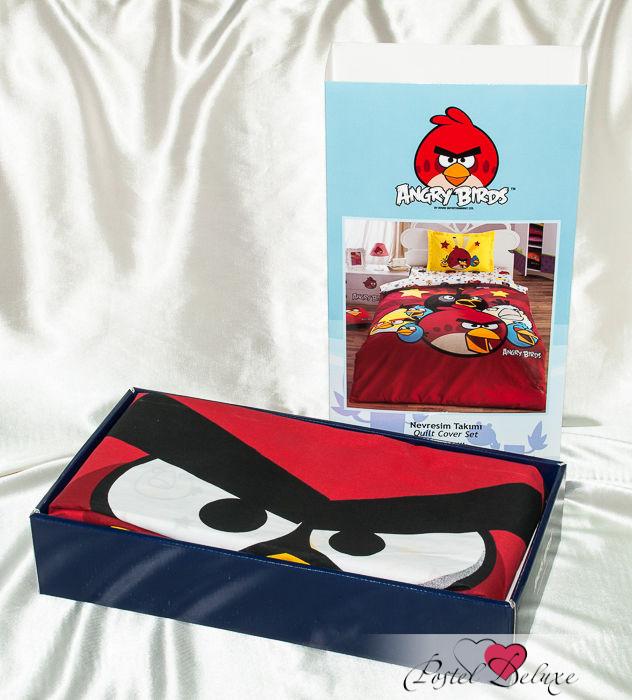 Детское Постельное белье Virginia Secret Постельное белье Angry Birds (160х220 см) комплект love of birds бр vienetta s secret 50