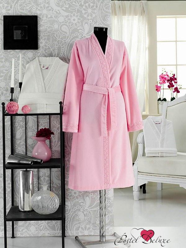Сауны, бани и оборудование Virginia Secret Халат Lavone Цвет: Розовый (M-L) сауны бани и оборудование valentini набор для сауны fantasy