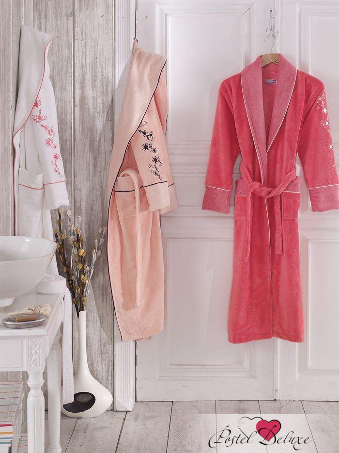 Сауны, бани и оборудование Virginia Secret Халат Merry Цвет: Розовый (M-L) сауны бани и оборудование arya халат zeus цвет синий m