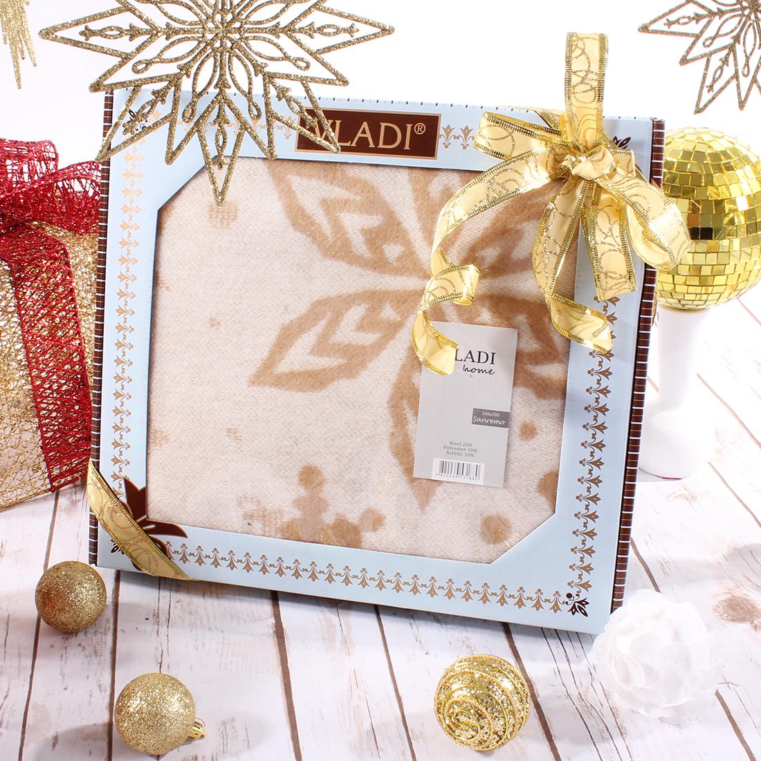 Плед Vladi Плед Сан-Ремо Merry Christmas (140х200 см) майка классическая printio сан хосе шаркс