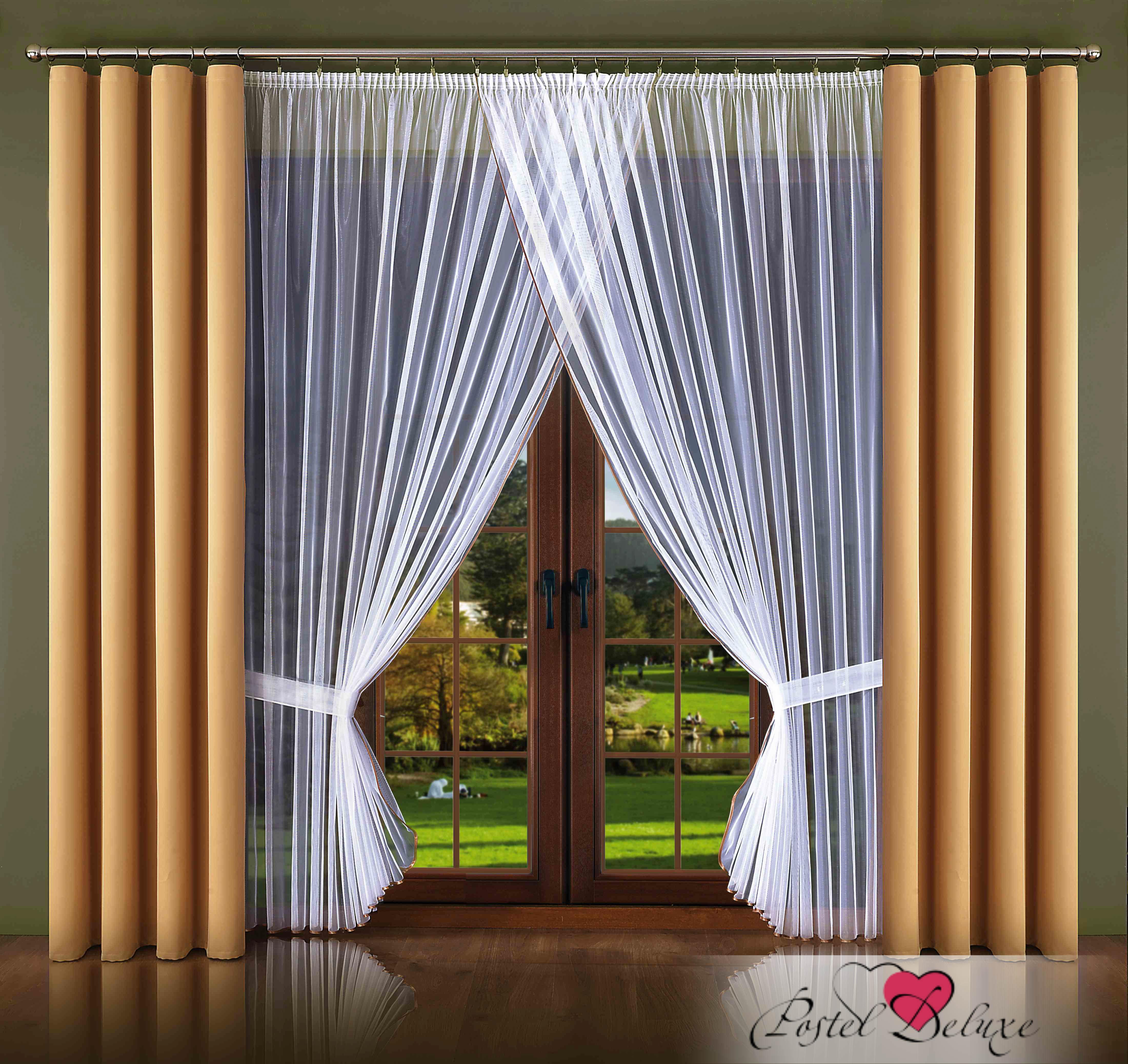 Шторы Wisan Классические шторы Kierra Цвет: Бежевый шторы tac классические шторы winx цвет персиковый 200x265 см