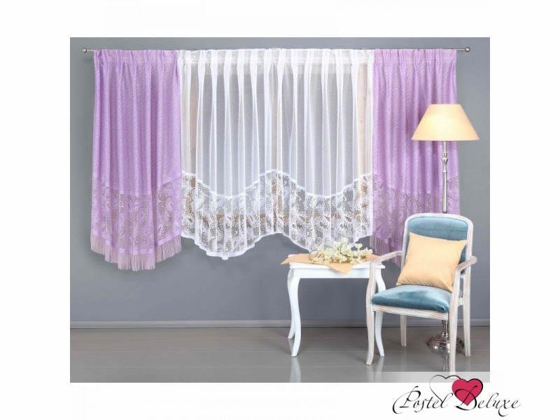 Шторы Wisan Классические шторы Berlin Цвет: Сиреневый шторы tac классические шторы winx цвет персиковый 200x265 см