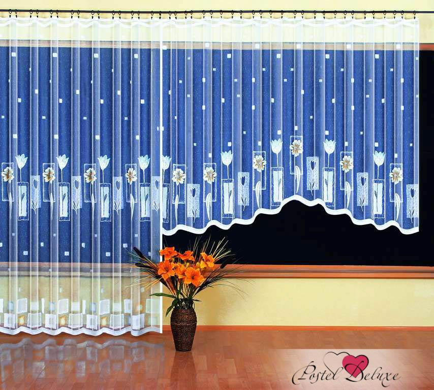 Шторы Wisan Классические шторы Vinny комплект штор для кухни wisan celina на ленте цвет белый оранжевый высота 180 см