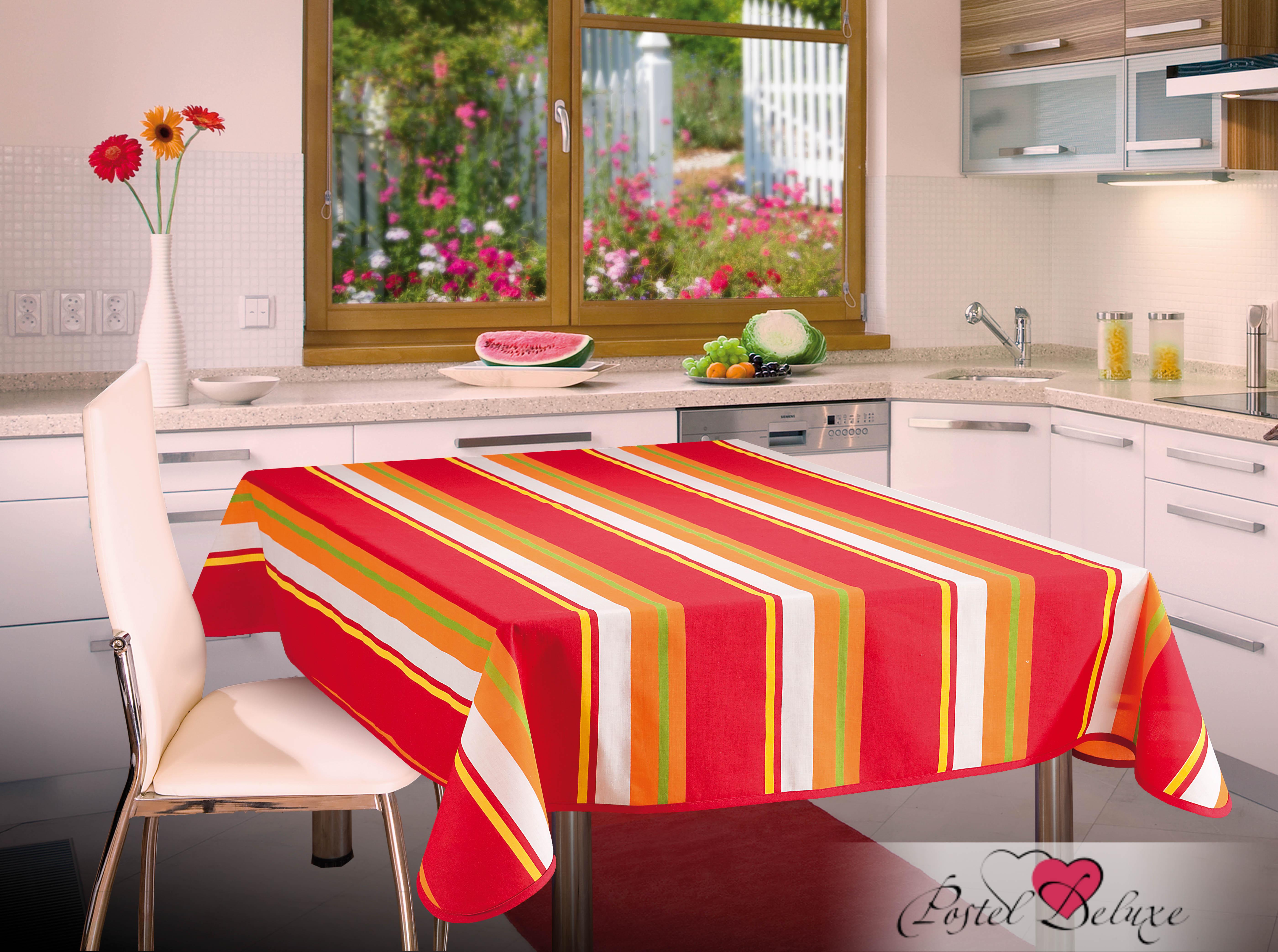 Скатерти и салфетки Wisan Скатерть Misty Цвет: Красный (130х160 см) комплект штор для кухни wisan celina на ленте цвет белый оранжевый высота 180 см