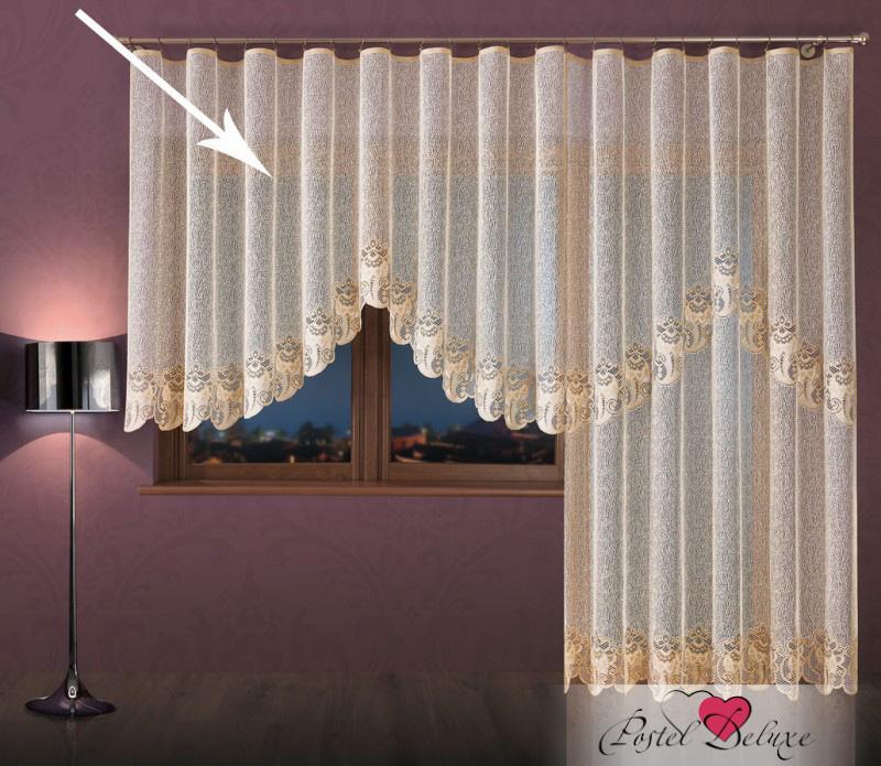 Шторы Wisan Классические шторы Ноэлия Цвет: Кремово-Золотистый шторы wisan классические шторы гражиана цвет золотистый
