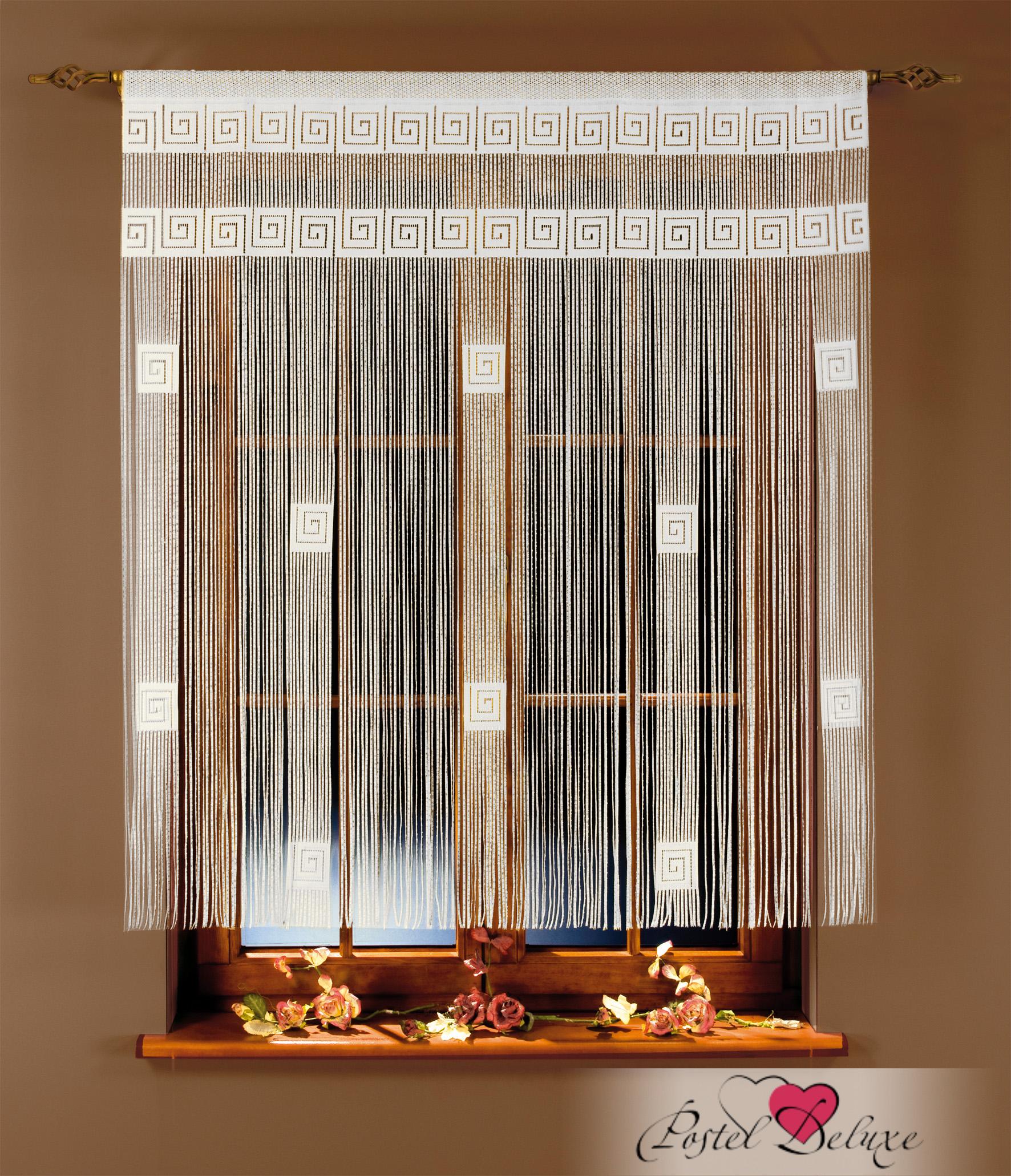 Шторы Wisan Нитяные шторы Arka Цвет: Белый комплект штор для кухни wisan celina на ленте цвет белый оранжевый высота 180 см