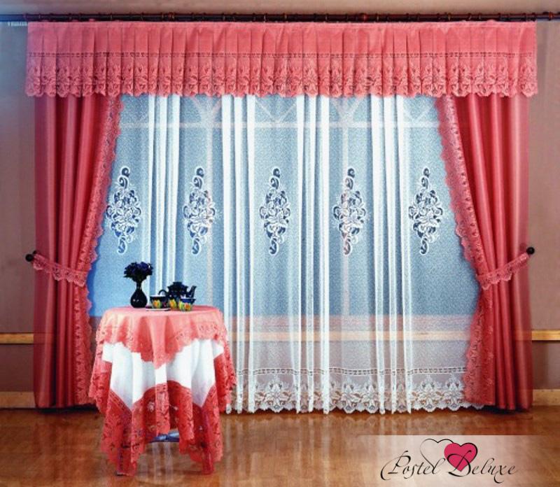 Шторы Wisan Шторы с ламбрекеном Ofelia Цвет: Терракотовый шторы wisan шторы с ламбрекеном caprice цвет льняной
