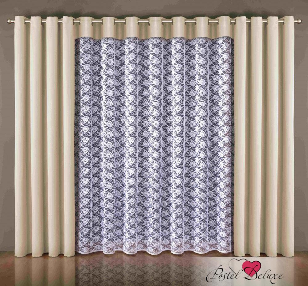 Шторы Wisan Классические шторы Kat Цвет: Кремовый wisan wisan классические шторы melicent цвет кремовый