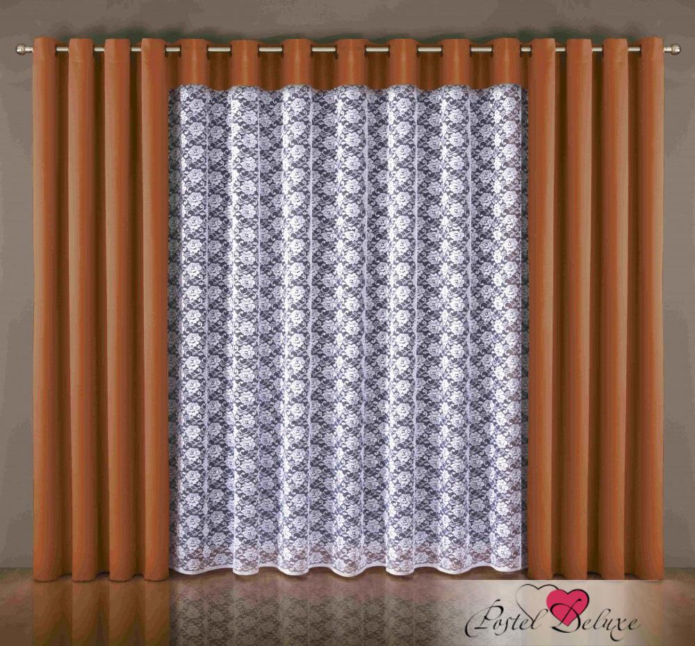 Шторы Wisan Классические шторы Kat Цвет: Терракотовый wisan wisan классические шторы noele