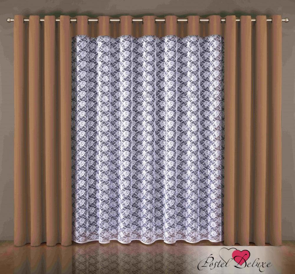Шторы Wisan Классические шторы Kat Цвет: Шоколадный шторы tac классические шторы winx цвет персиковый 200x265 см