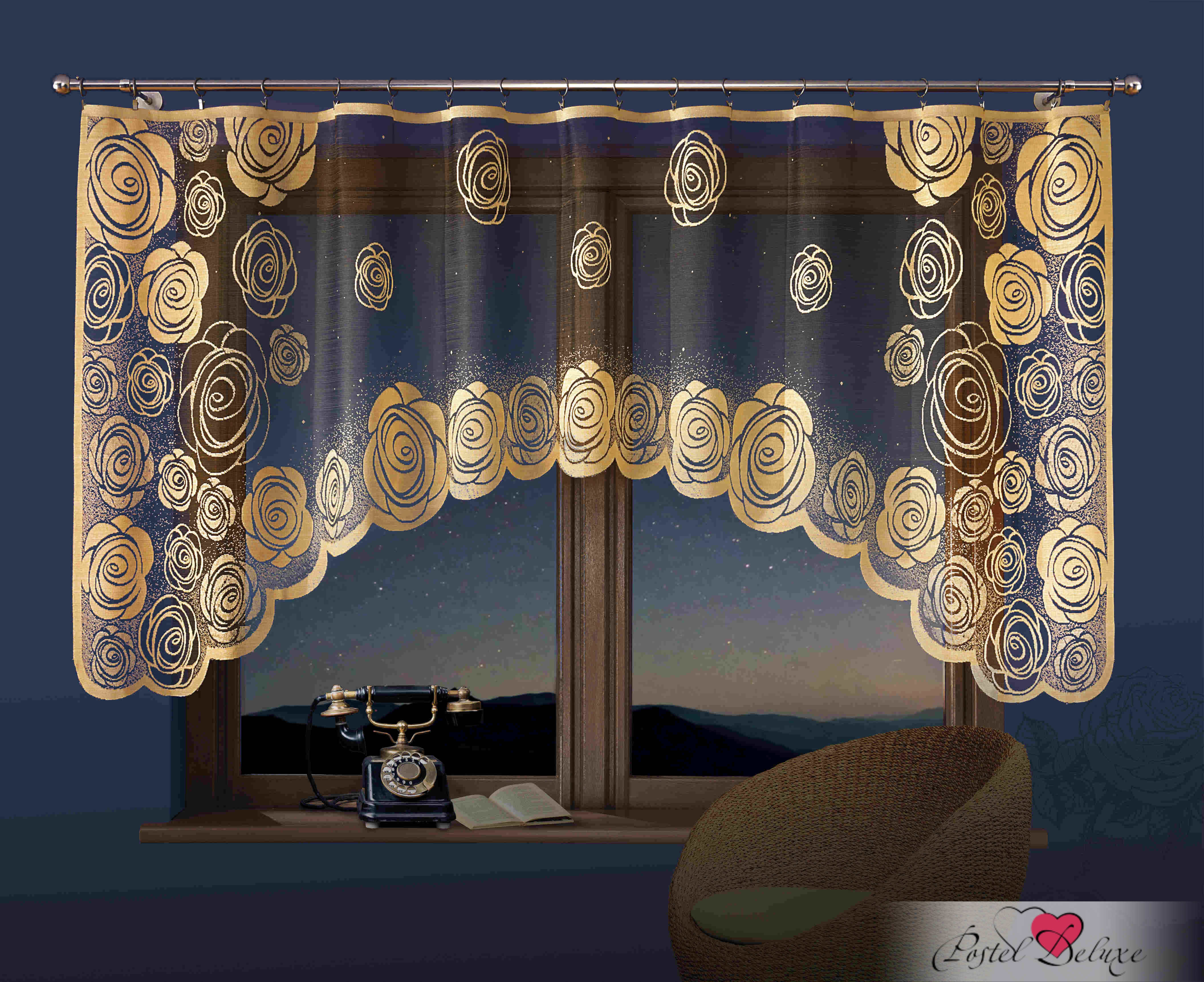 Шторы Wisan Классические шторы Alvena Цвет: Светло-Коричневый wisan wisan классические шторы noele