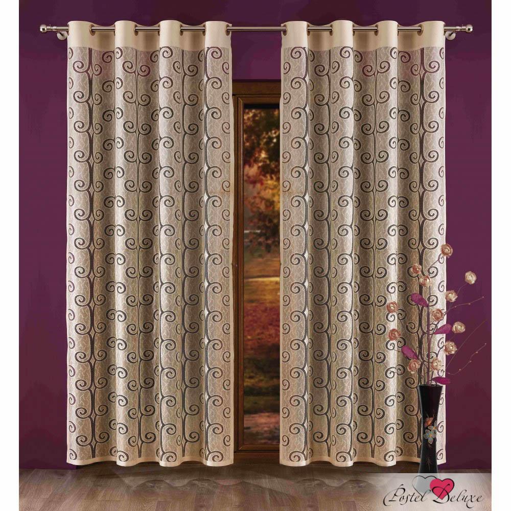Шторы Wisan Классические шторы Baronne комплект штор для кухни wisan celina на ленте цвет белый оранжевый высота 180 см