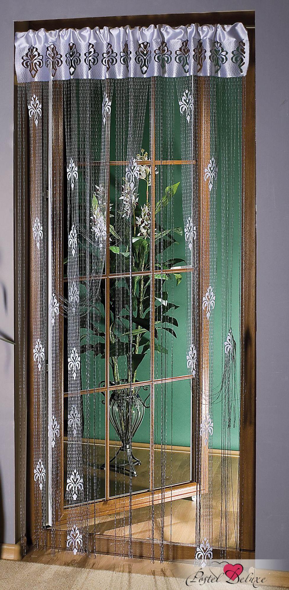 Шторы Wisan Нитяные шторы Joshua Цвет: Серебро комплект штор для кухни wisan celina на ленте цвет белый оранжевый высота 180 см