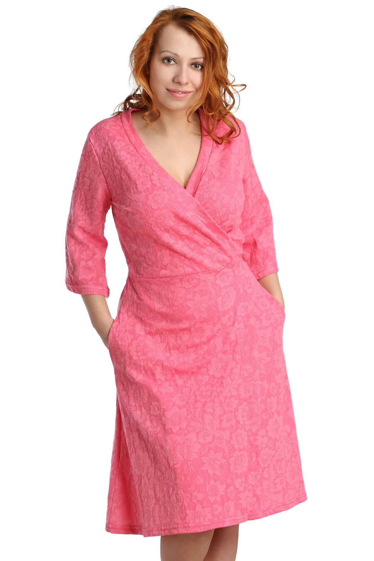 Домашние халаты ElenaTex Домашний халат Lovely Цвет: Малина (xxxL) домашние халаты mia mia домашний халат yesenia xl