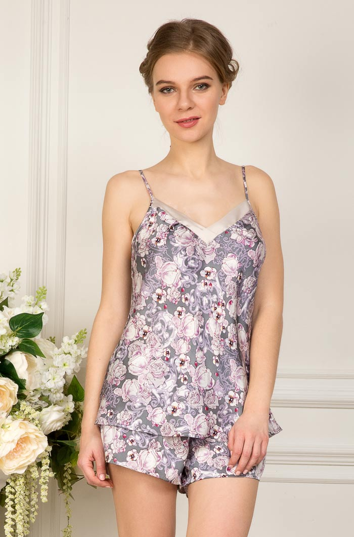 Пижамы Mia-Mia Пижама Fiona (xL) пижамы la pastel пижама кофта с запахом длинный рукав штаны длинные белый голубой размер xl