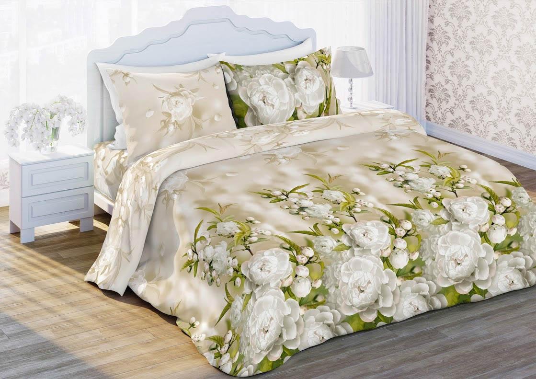 где купить Постельное белье Любимый дом Постельное белье Яблоневый Цвет (2 спал.) по лучшей цене
