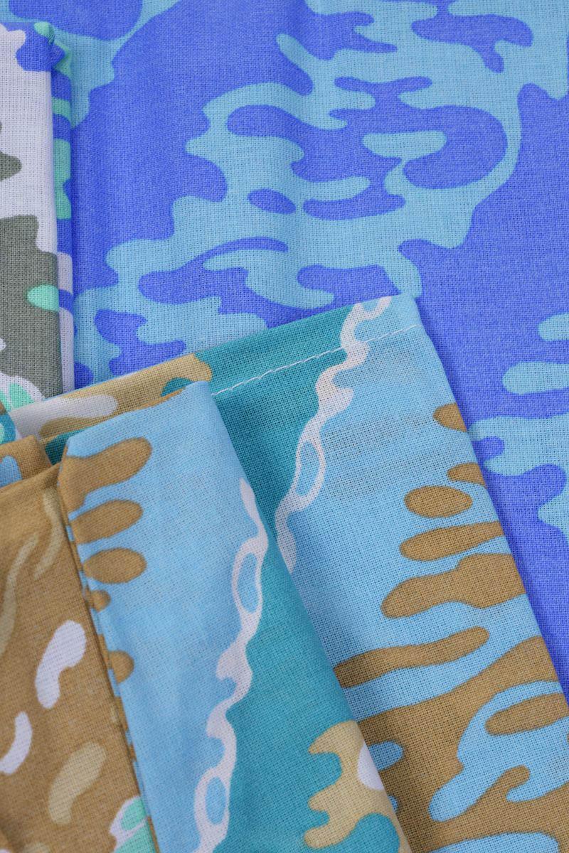 где купить Детское Постельное белье Хлопковый Край Постельное белье Zigzag Цвет: Зеленый (140х205 см) по лучшей цене