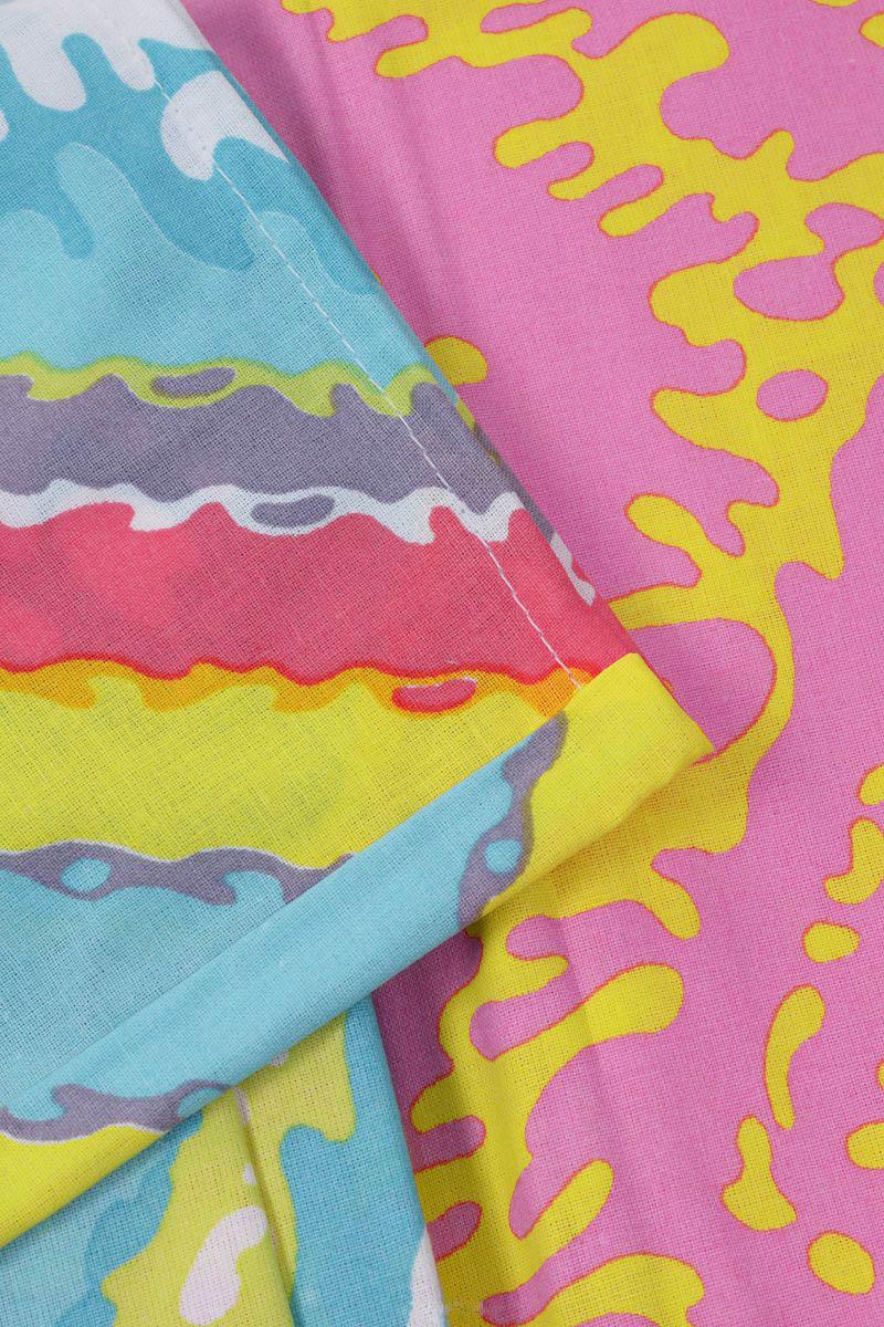 где купить Детское Постельное белье Хлопковый Край Постельное белье Zigzag Цвет: Оранжевый (140х205 см) по лучшей цене