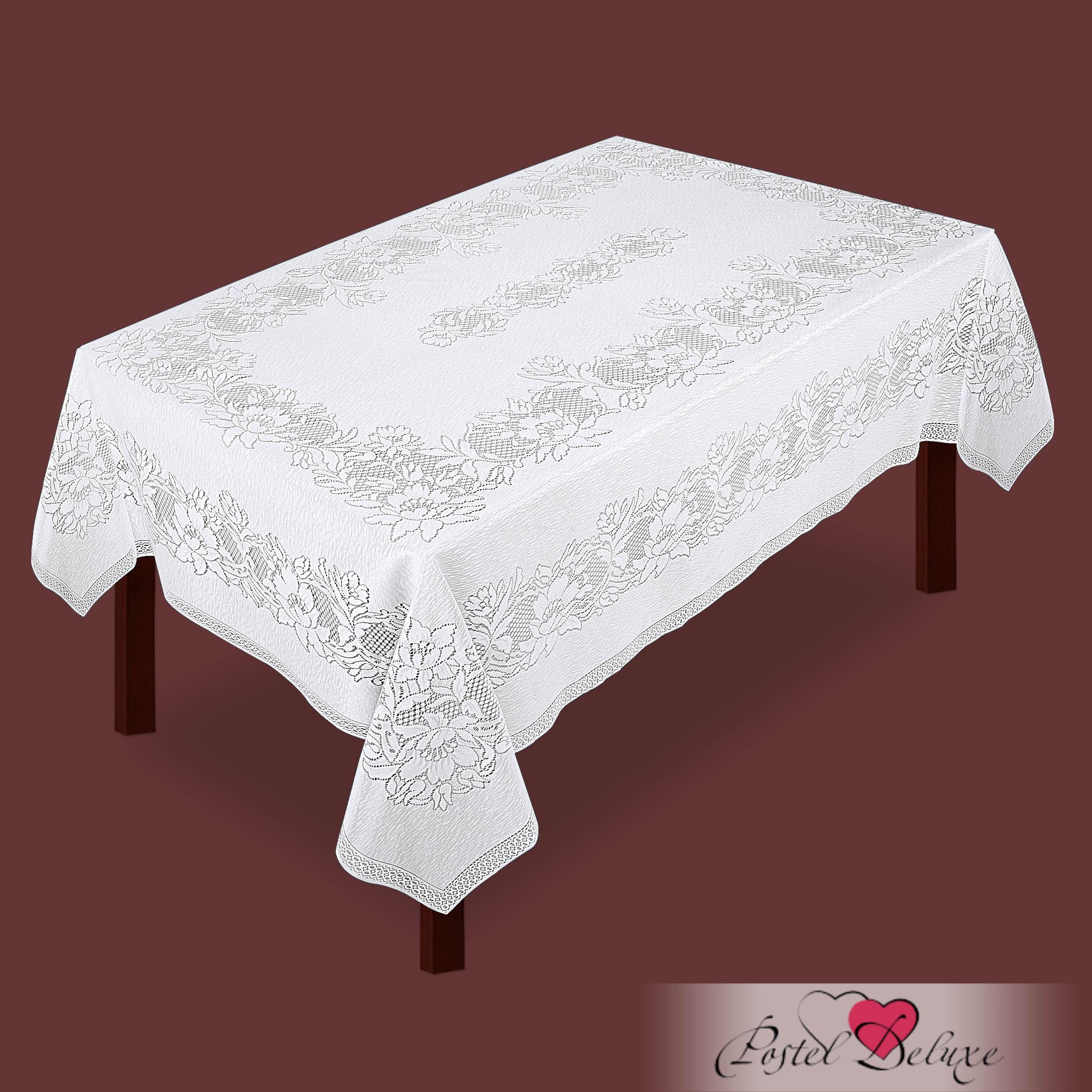 Скатерти и салфетки Zlata Korunka Скатерть Emilia Цвет: Белый (165х235 см)