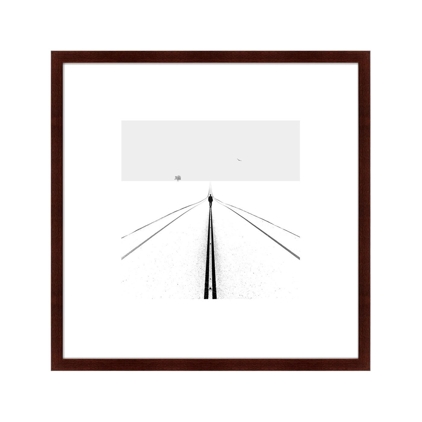 Картины, постеры, гобелены, панно Картины в Квартиру Картина Road (79х79 см)
