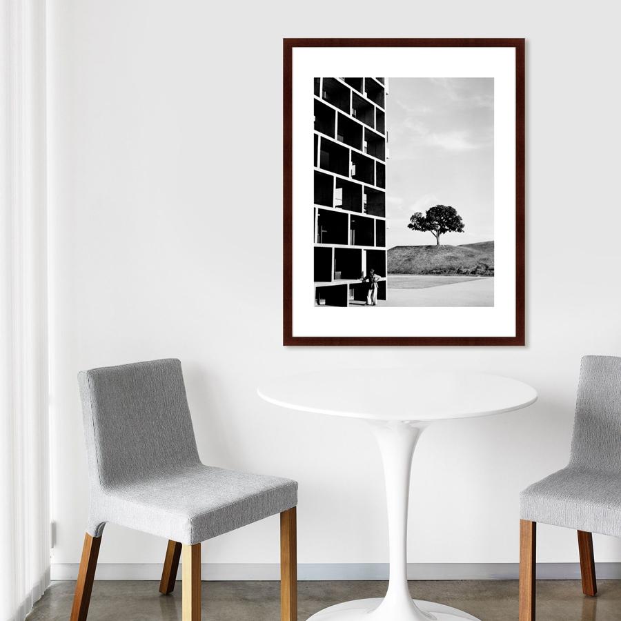 Черно белые постеры в офис