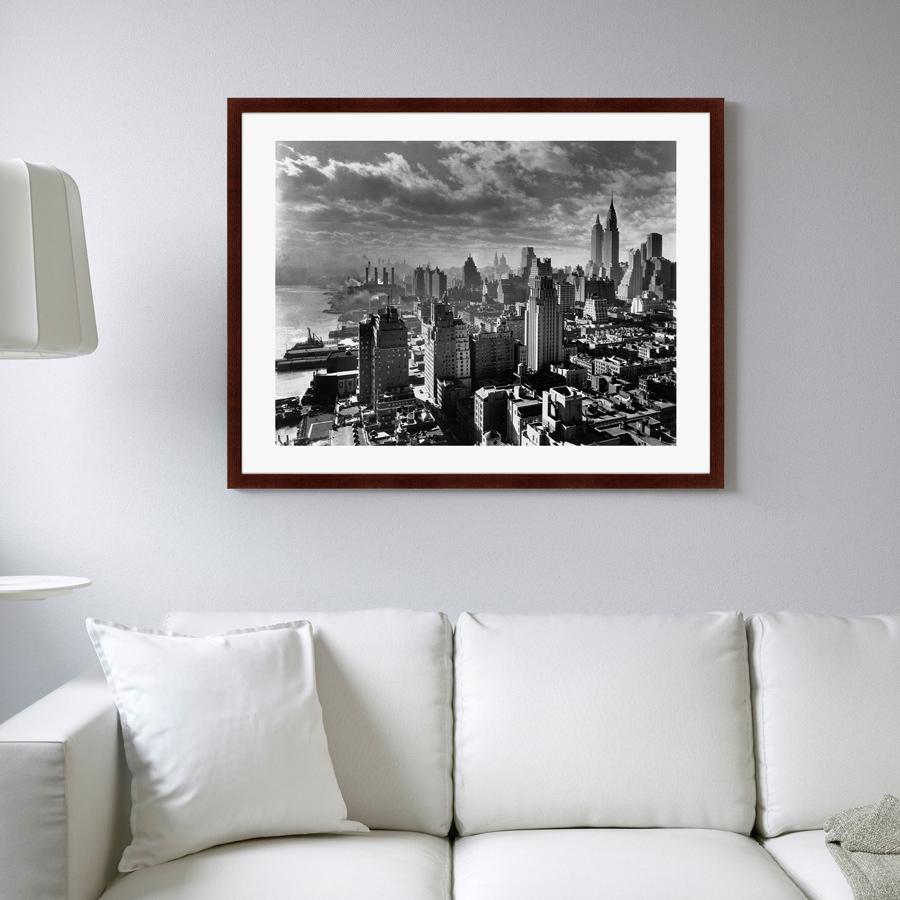 Картины, постеры, гобелены, панно Картины в Квартиру Картина Нью-Йорк 30-е Годы (79х100 см)