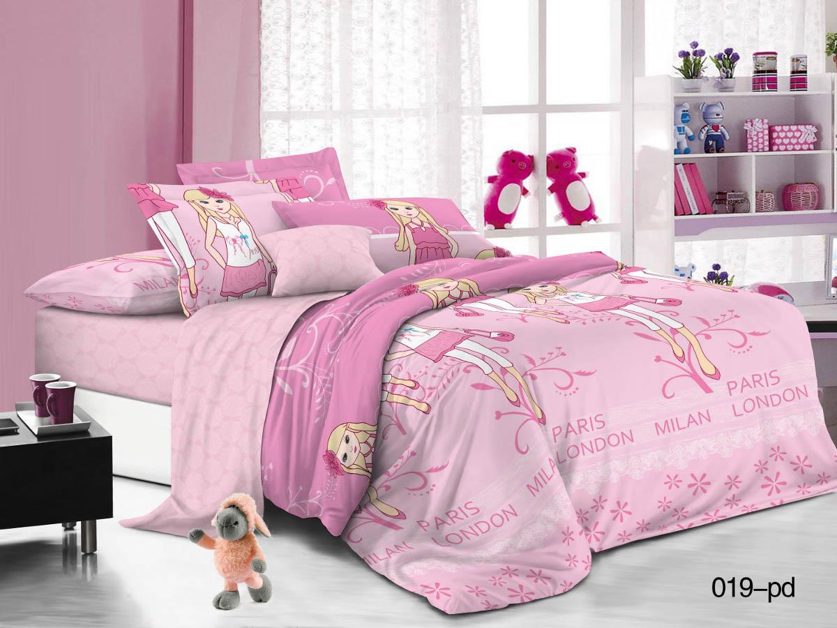 Купить Детское постельное белье Cleo, Детское Постельное белье Модницы (145х215 см), Китай, Поплин