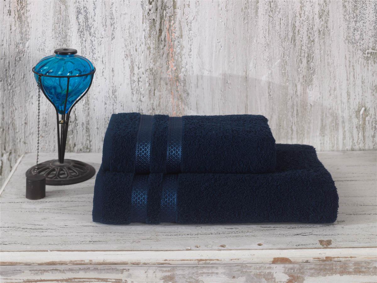 Полотенца Karna Полотенце Petek Цвет: Синий (50х100 см) полотенца karna полотенце petek цвет кремовый синий набор