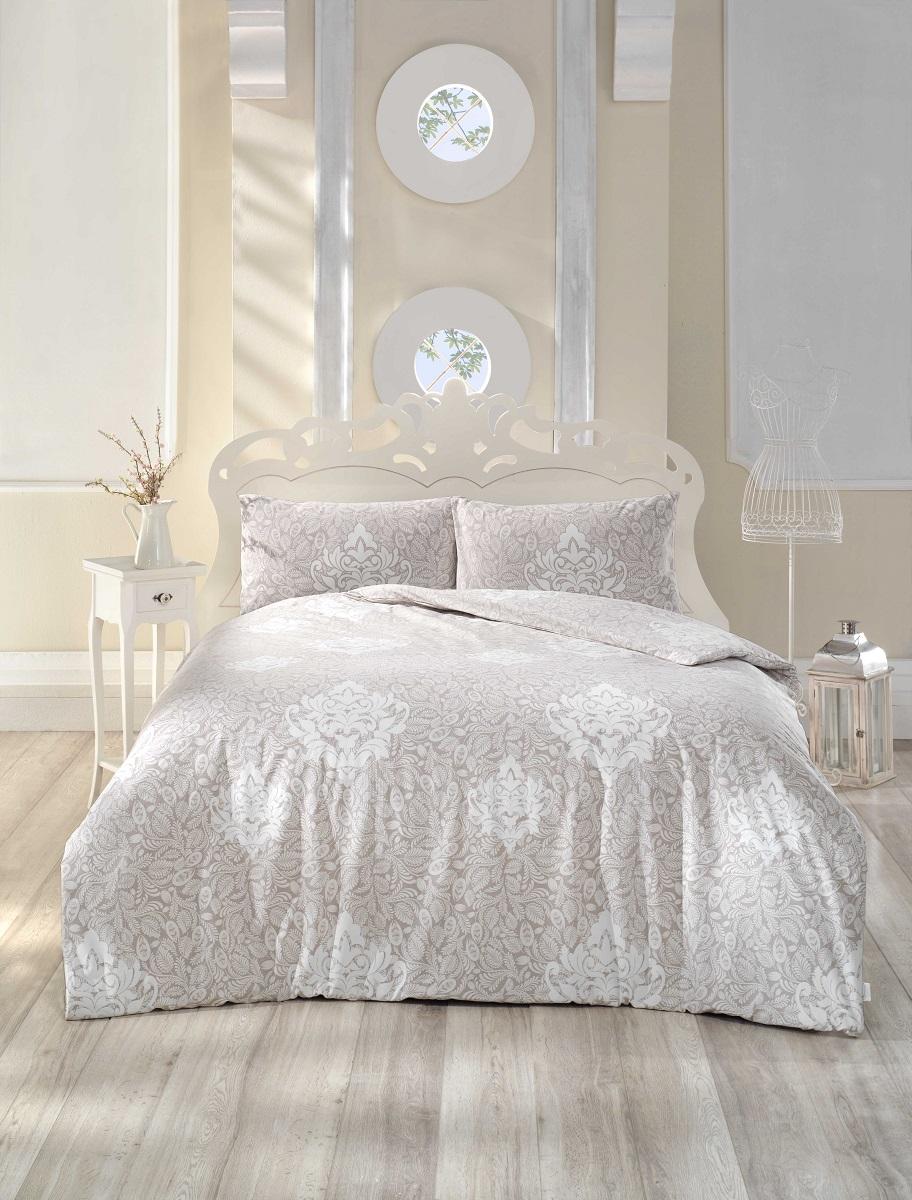 Купить Комплекты постельного белья Altinbasak, Постельное белье Snazzy Цвет: Коричневый (2 сп. евро), Турция, Бязь