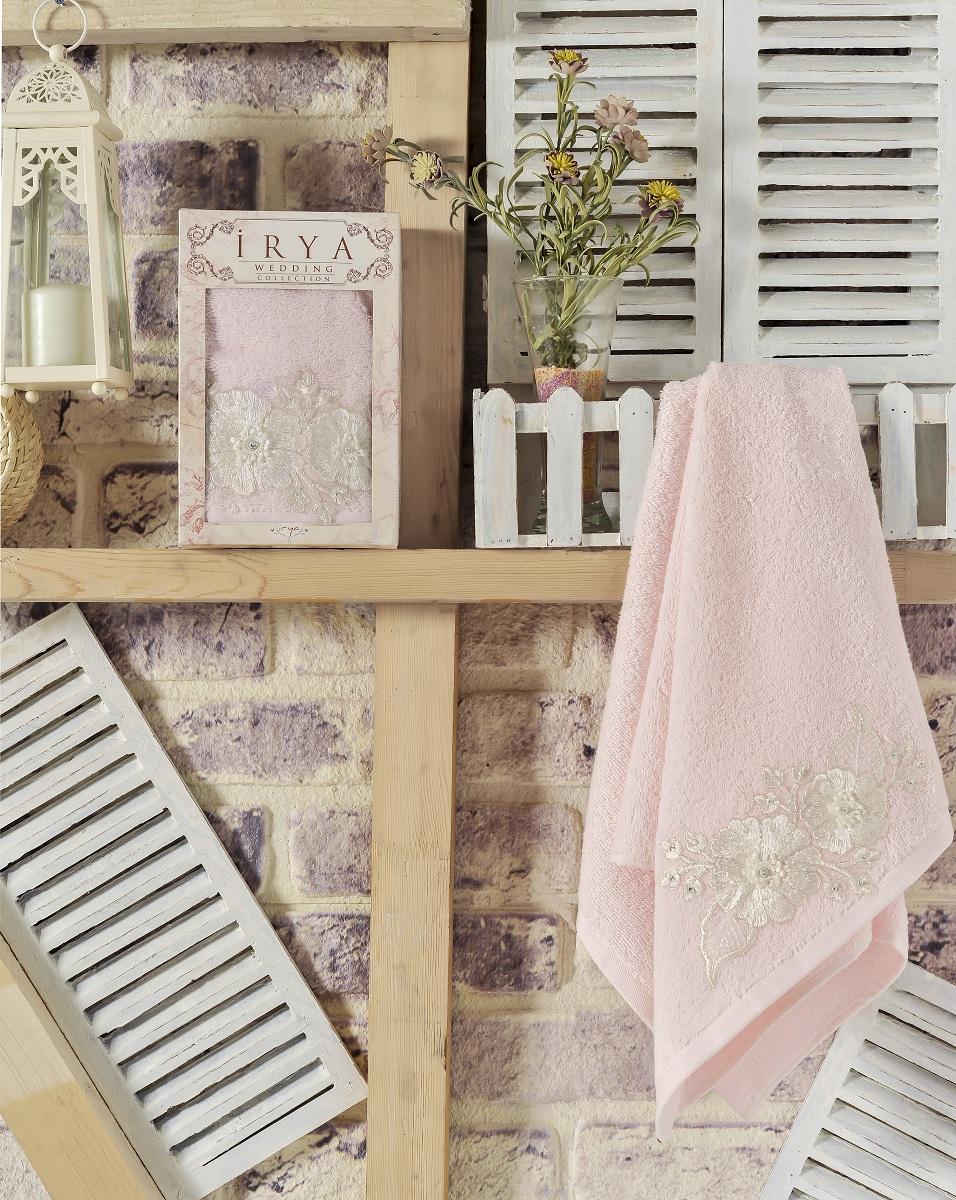 Купить Полотенца IRYA, Полотенце Fleur Цвет: Розовый (50х90 см), Турция, Махра