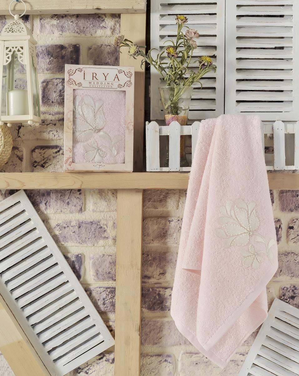 Купить Полотенца IRYA, Полотенце Senses Цвет: Розовый (50х90 см), Турция, Махра