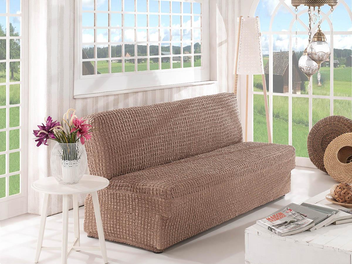 Чехол для мебели Verina Цвет: Кофейный (Двухместный) фото