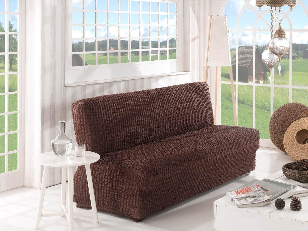 Чехол для мебели Verina Цвет: Коричневый (Двухместный) фото