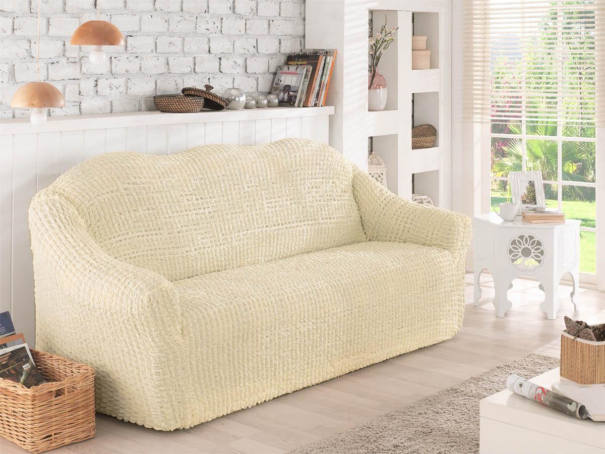 Чехол для мебели Verina Цвет: Кремовый (Двухместный) фото