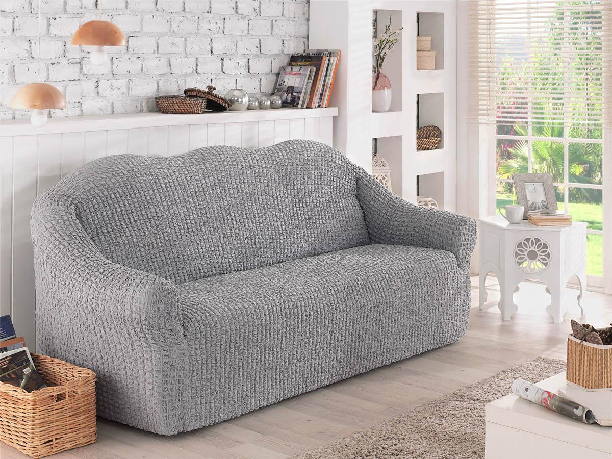 Чехол для мебели Verina Цвет: Серый (Двухместный) фото
