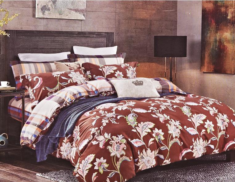 Комплекты постельного белья Karna, Постельное белье Regata (1, 5 спал.), Турция, Хлопковый сатин  - Купить