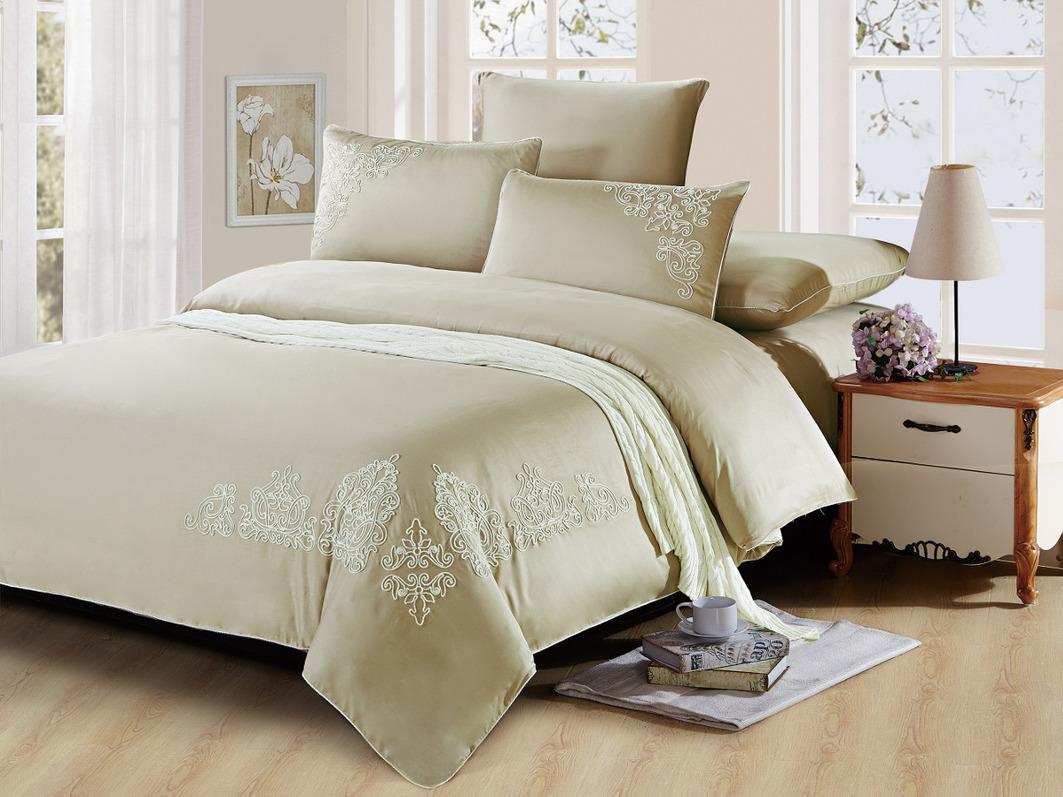 Комплекты постельного белья Cleo Постельное белье Hollie (2 сп. евро)