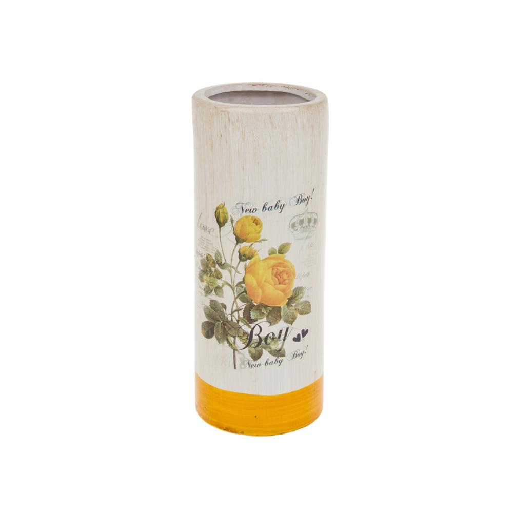Вазы ArtHouse Ваза Куст Розы (10х10х26 см) ваза ingreen розы высота 26 см